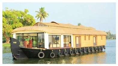 Houseboat service in alleppey