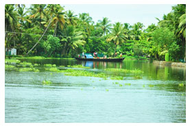 rivers in alleppey